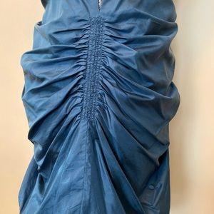 3.1 Phillip Lim Dresses - Phillip Lim 3.1 blue bubble ruffle strapless dress